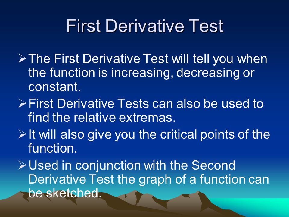 5 First Derivative Test: First Derivative Test Worksheet At Alzheimers-prions.com