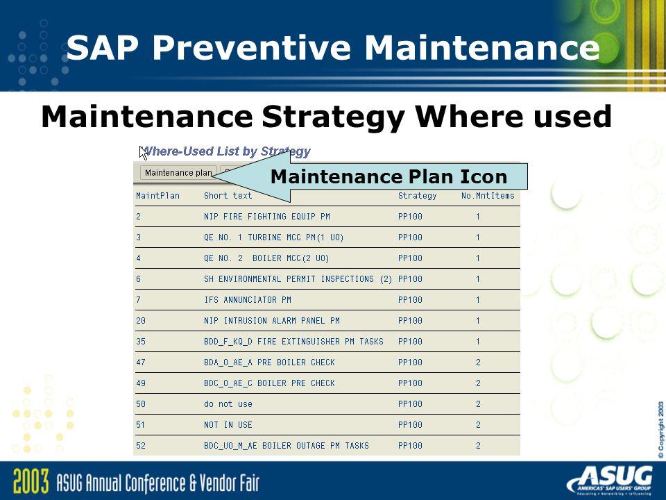 SAP Preventive Maintenance An Overview - ppt download