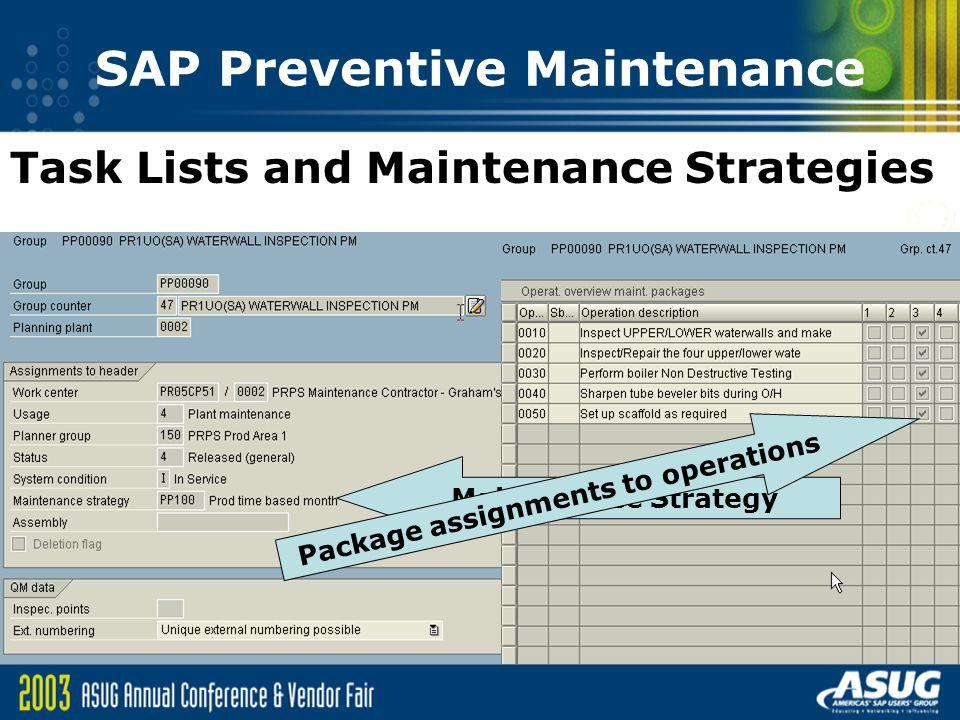 sap preventive maintenance an overview ppt download