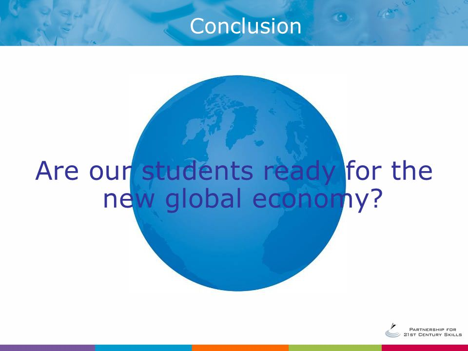 Are our students ready for the new global economy