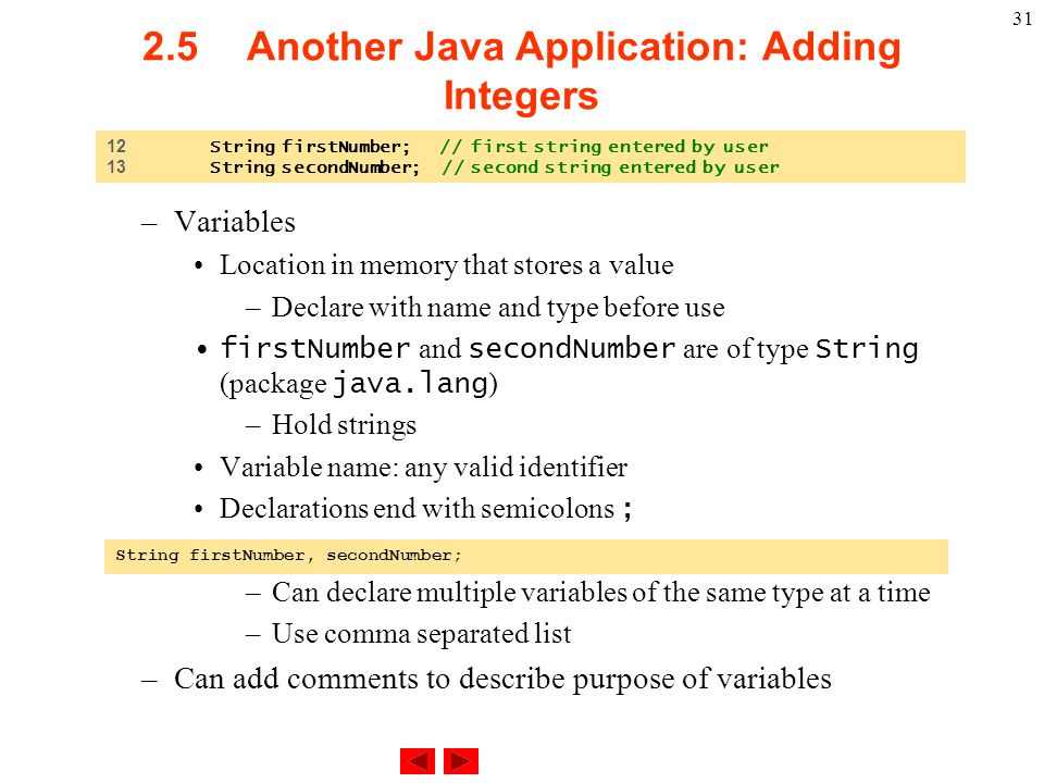 Chapter 2 - Introduction to Java Applications - ppt download