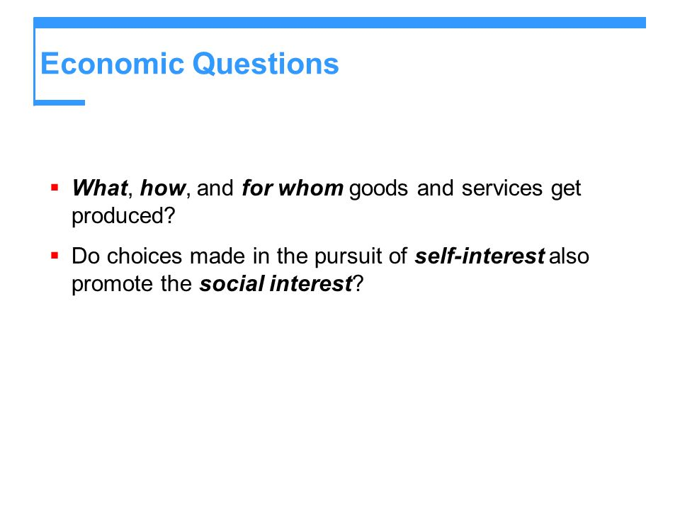 Ch  1: What is Economics? Objectives - ppt download