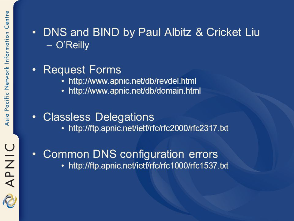 Dns And Bind Book