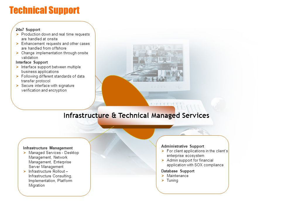 Infrastructure & Technical Managed Services