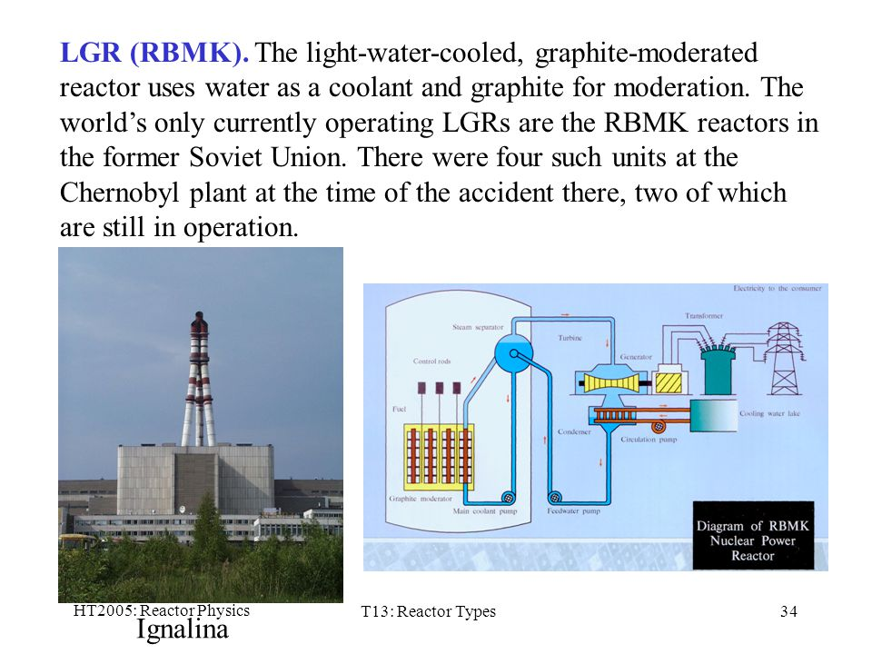Types of nuclear reactors ppt download the light water cooled graphite moderated reactor ccuart Image collections