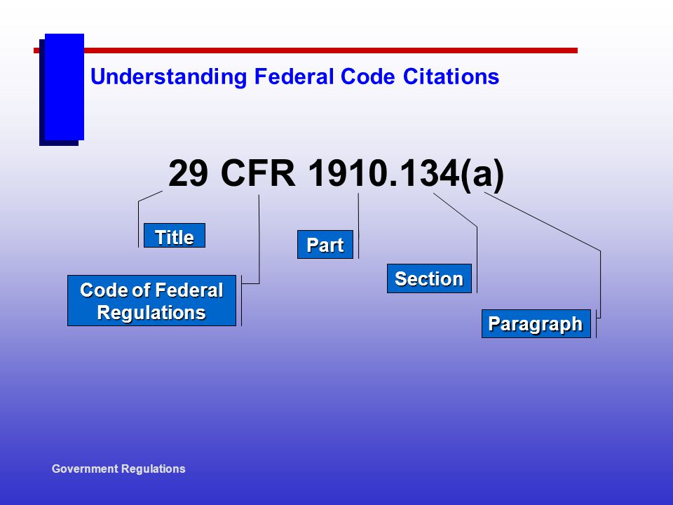 Understanding Federal Code Citations