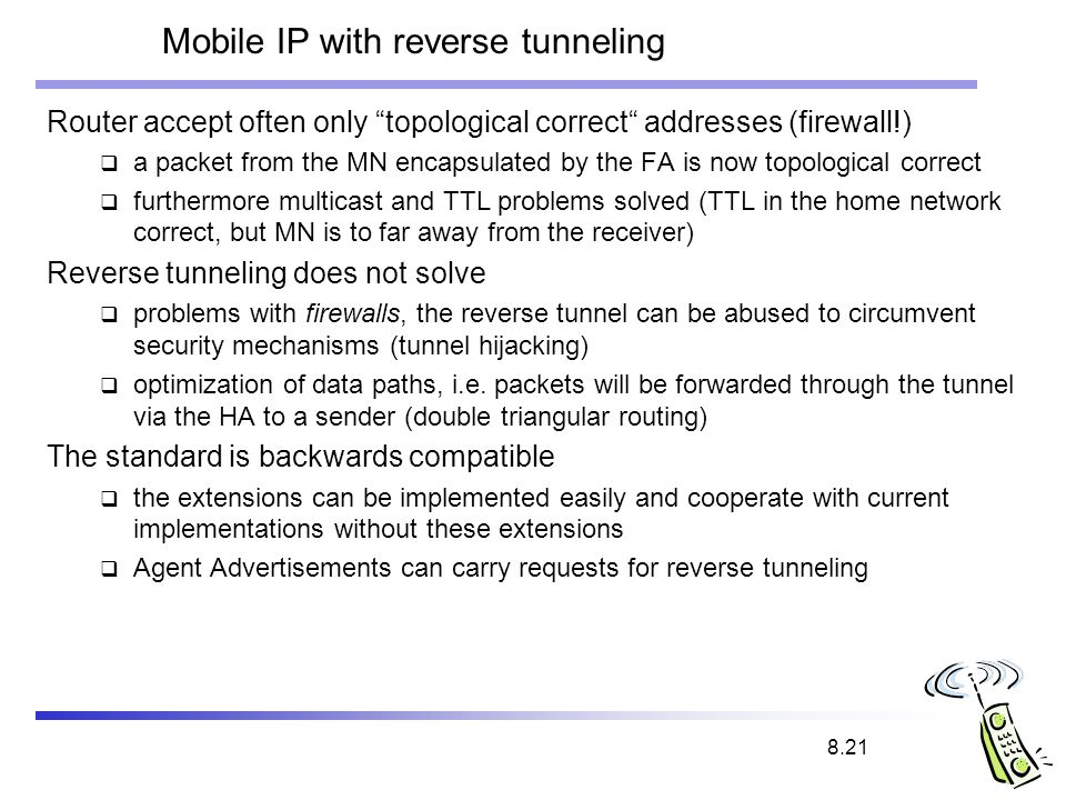 Mobile ip.
