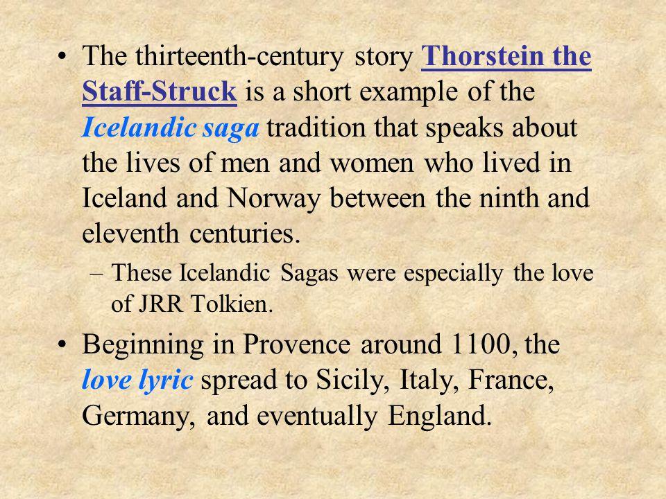thorstein the staff struck