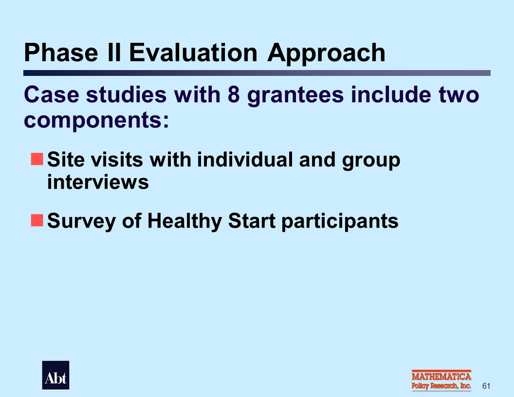 Grantee Selection Criteria: First Stage