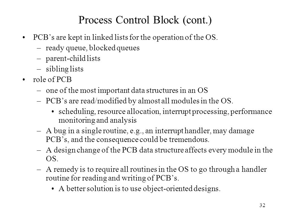 Process Description and Control (Chapter 3) - ppt video online download