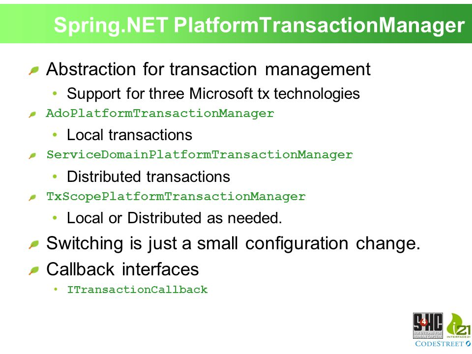 Introduction to Spring NET  - ppt download