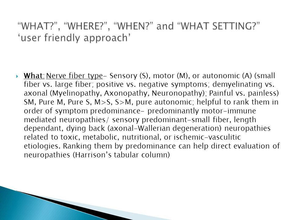 CLINICAL APPROACH TO PERIPHERAL NEUROPATHY - ppt download