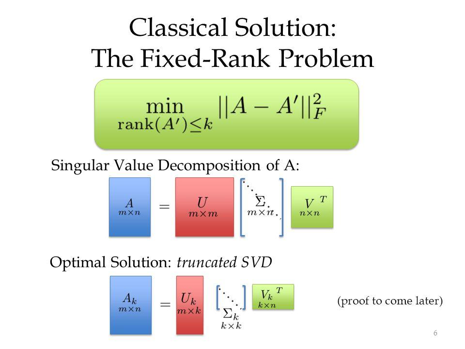Randomized Algorithms for Low-Rank Matrix Decomposition