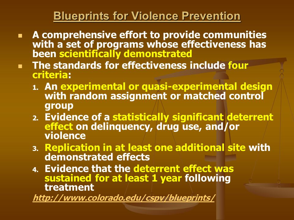 Criminal violence patterns causes and prevention riedel and welsh blueprints for violence prevention malvernweather Choice Image