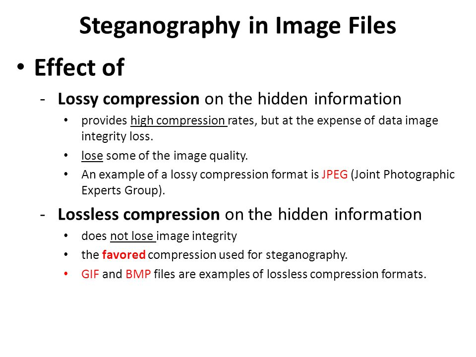 steganography essay Steganography is the hiding of information within a more obvious kind of communication although not widely used, digital steganography involves the hiding of data inside a sound or image file.