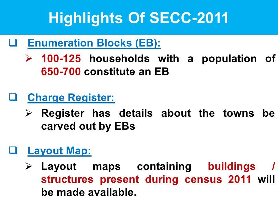 Socio Economic and Caste Census - ppt video online download