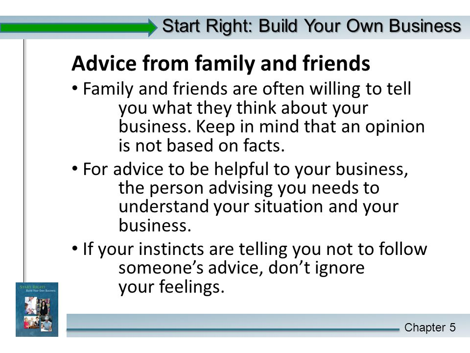 Start Right: Build Your Own Business - ppt download
