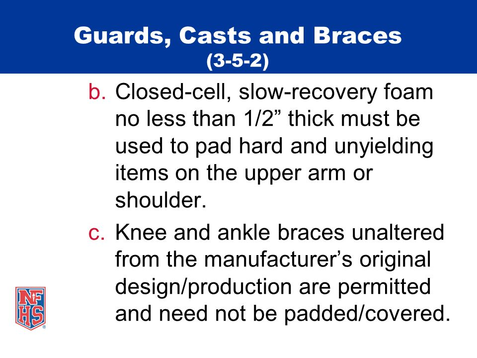 Guards, Casts and Braces (3-5-2)