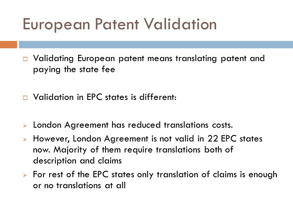 The European Patent System And Its Future Prospect Ppt Video