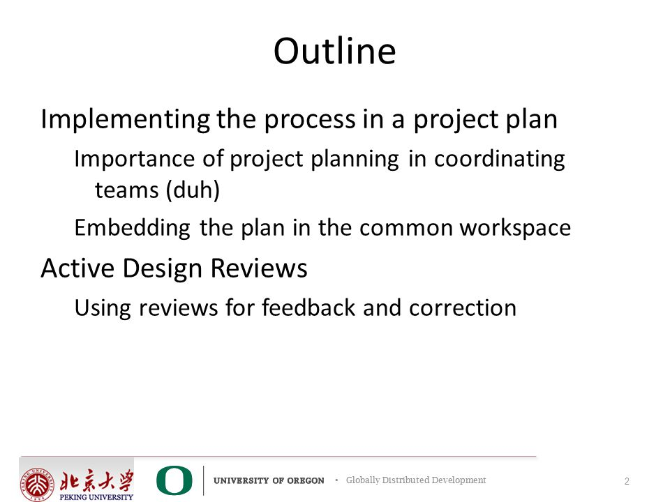 Project Planning and Synchronizing Using Reviews - ppt video