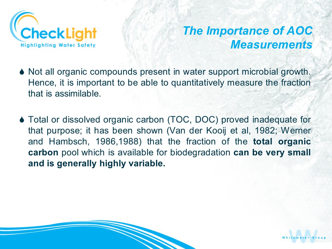 The Importance of AOC Measurements
