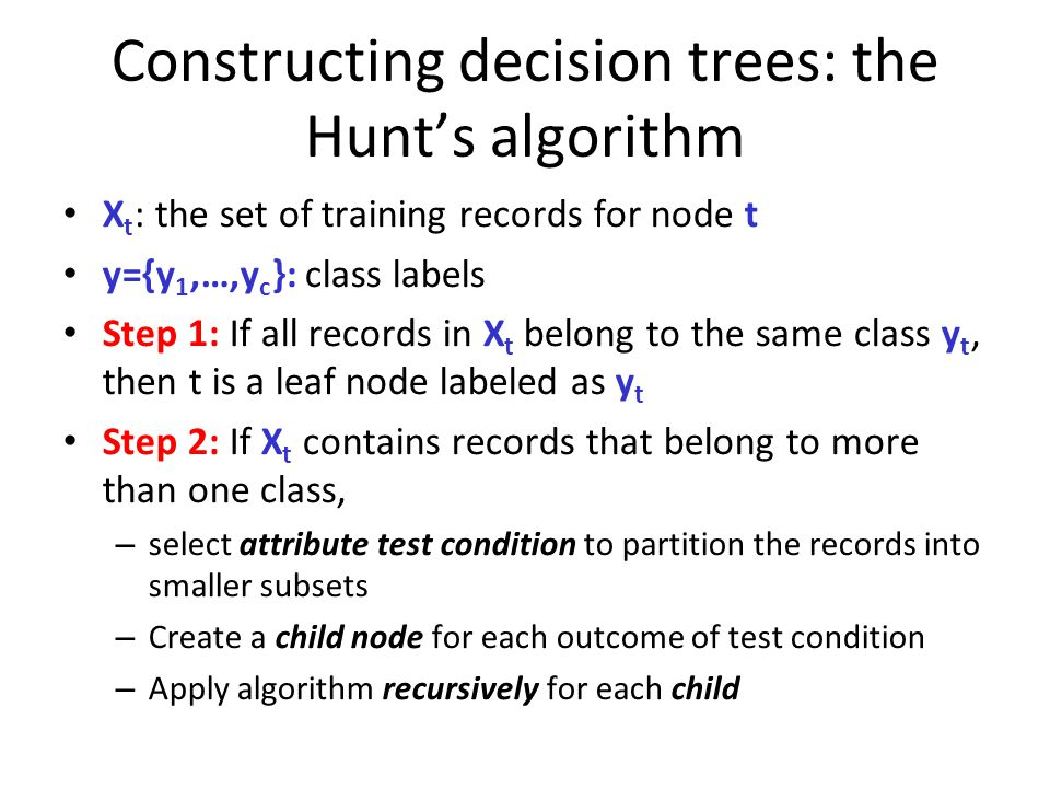 Lecture outline Classification Decision-tree classification
