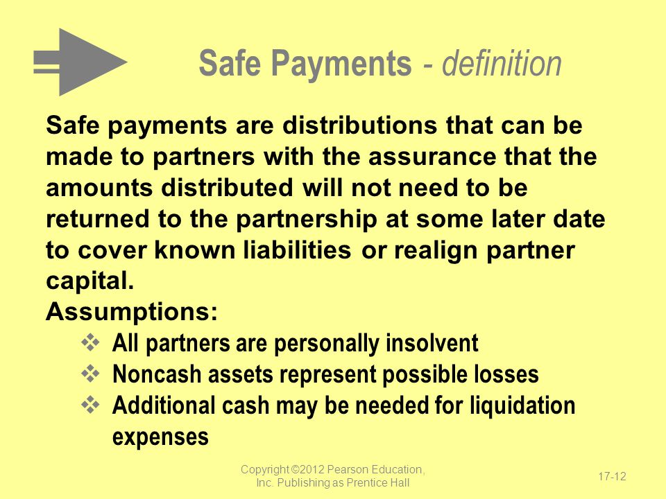 Safe Payments - definition
