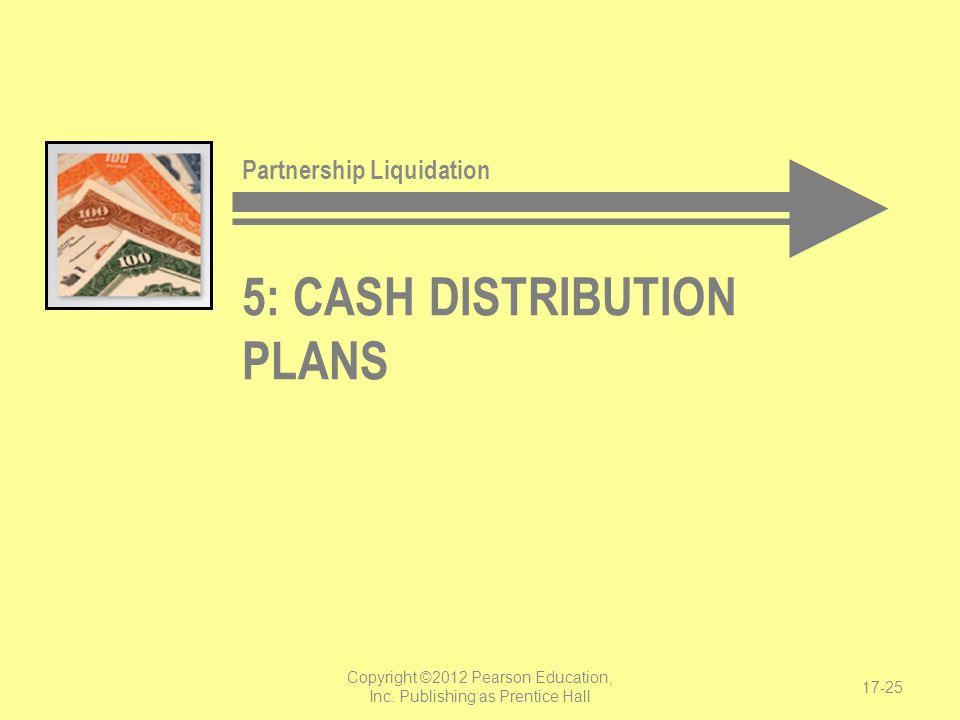5: cash distribution plans
