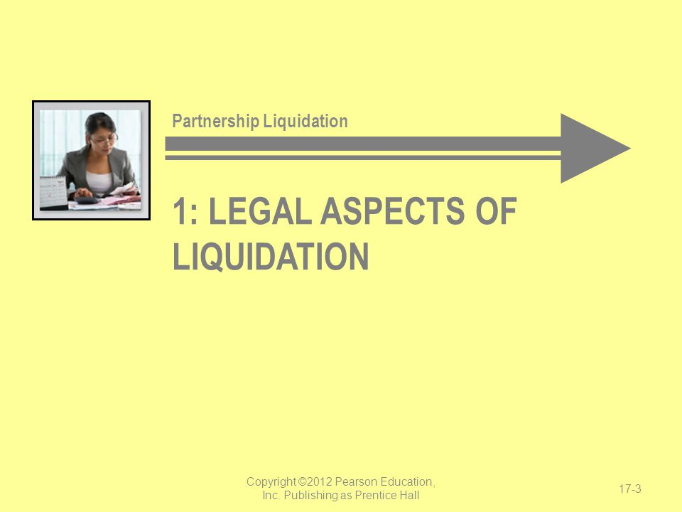 1: Legal aspects of liquidation