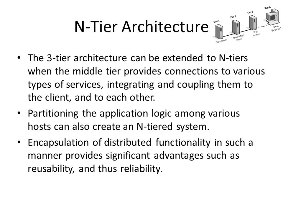 N-Tier Architecture