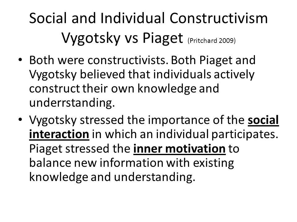 constructivism vygotsky and piaget