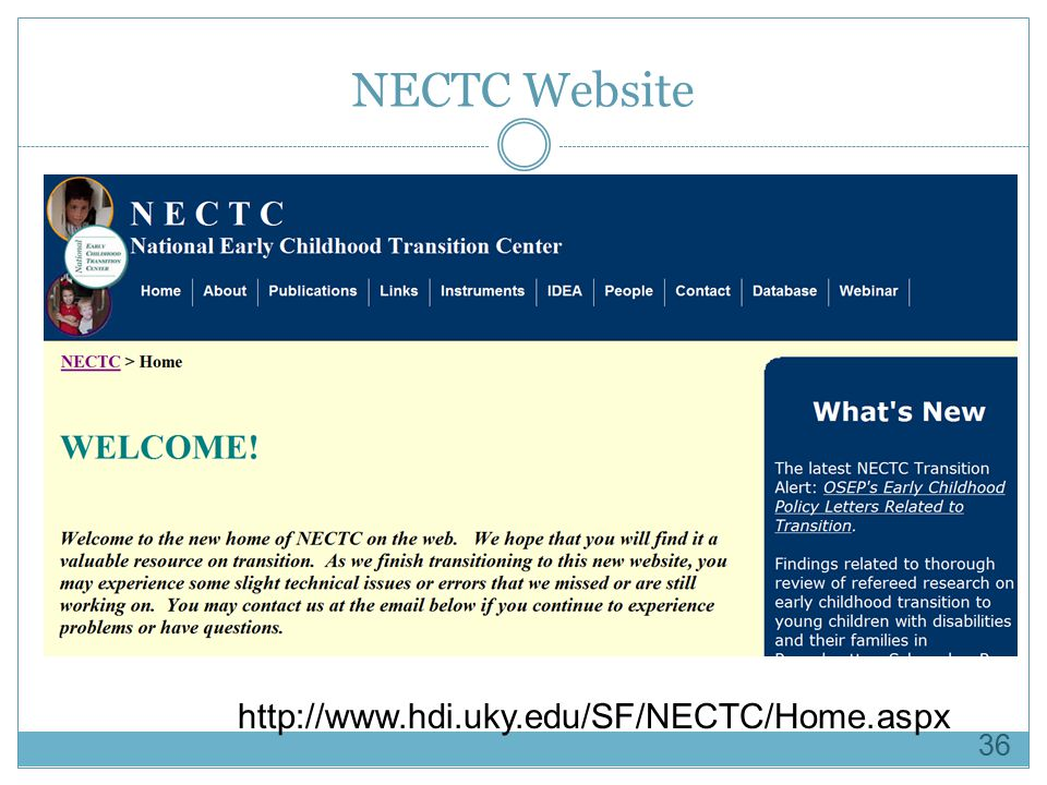 NECTC Website