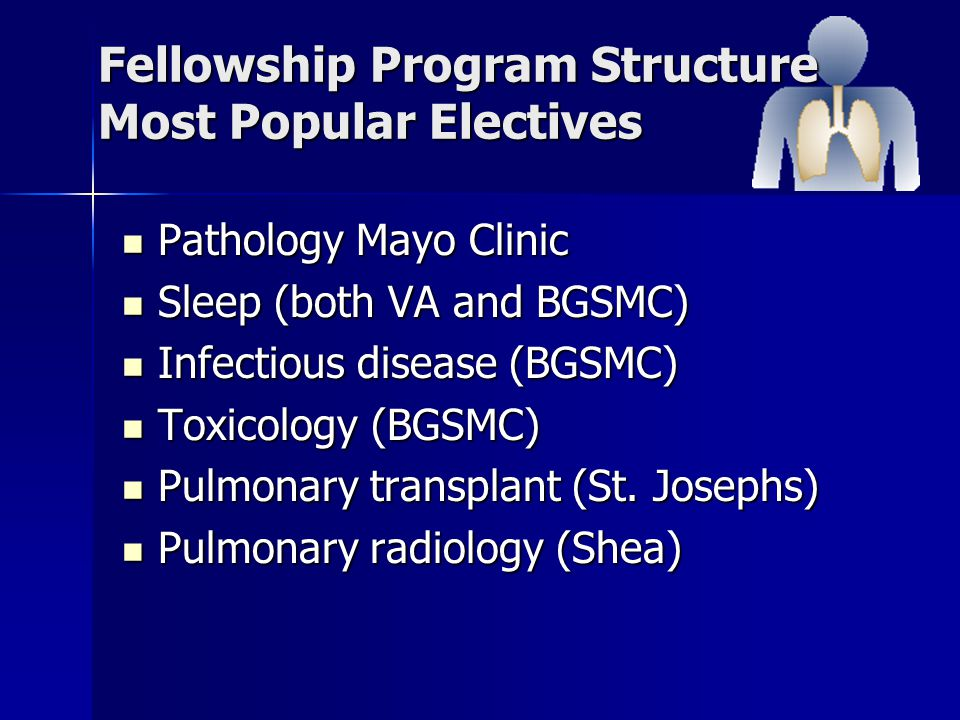 Pulmonary/Critical Care Fellowship Program - ppt video