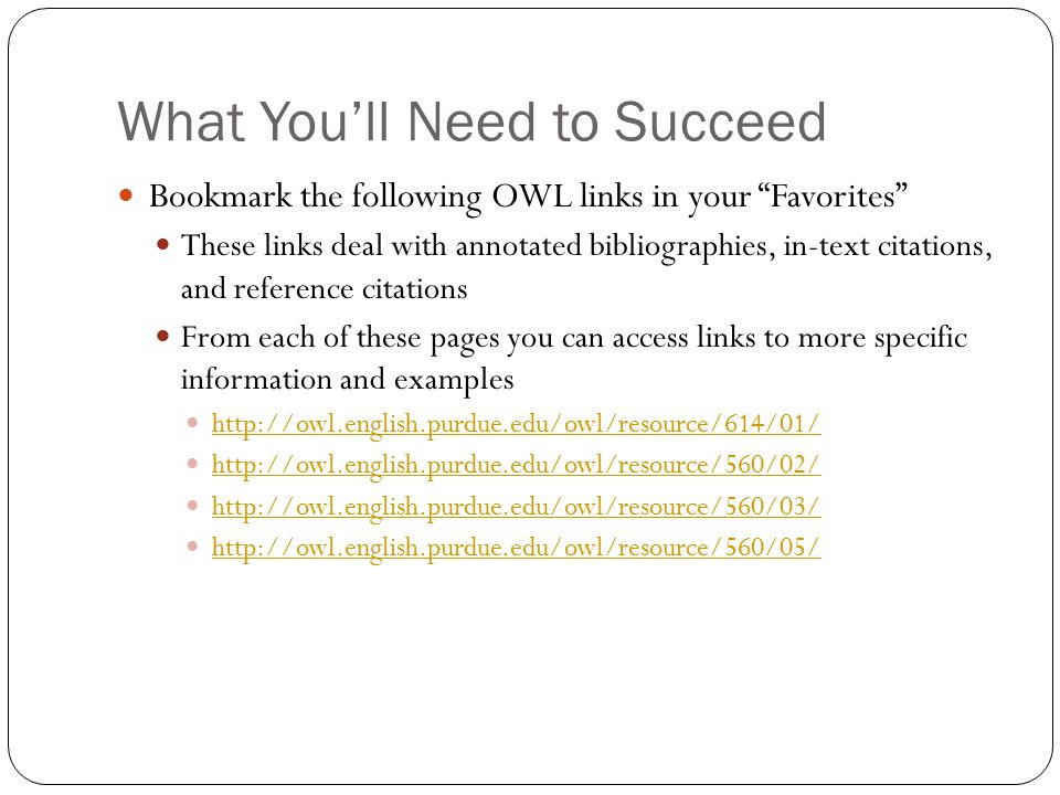 annotated bibliography in text citations An annotated bibliography is a list of citations for various books, articles, and other sources on a topic the annotated bibliography looks like a works cited page but includes an annotation after each source cited an annotation is a short summary and/or critical evaluation of a source and ranges anywhere from 100-300 words.