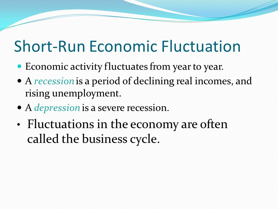 Short-Run Economic Fluctuation