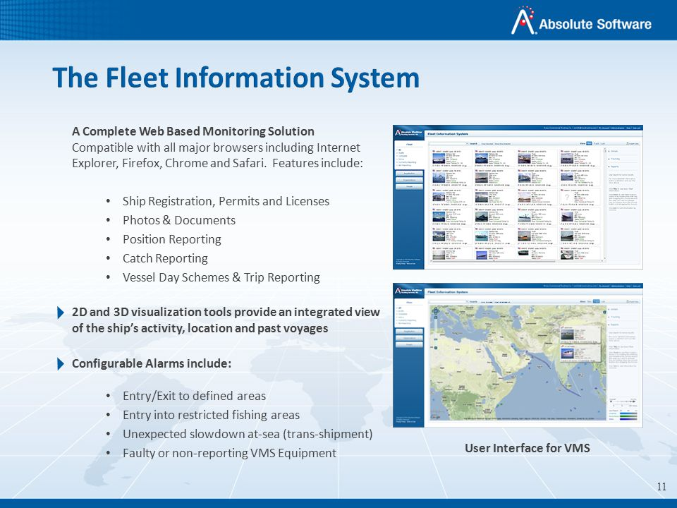 Vessel Monitoring Systems Vessel Monitoring Systems Ppt