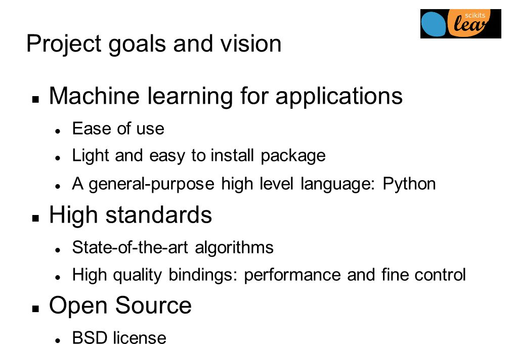 Scikit-learn: Machine learning in Python - ppt download
