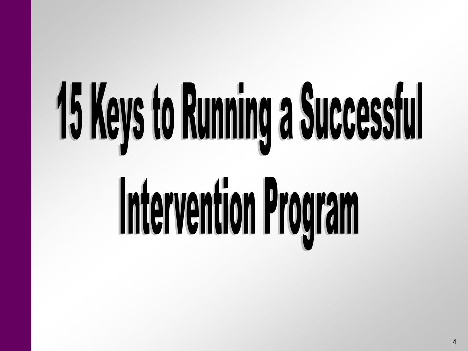 15 Keys to Running a Successful