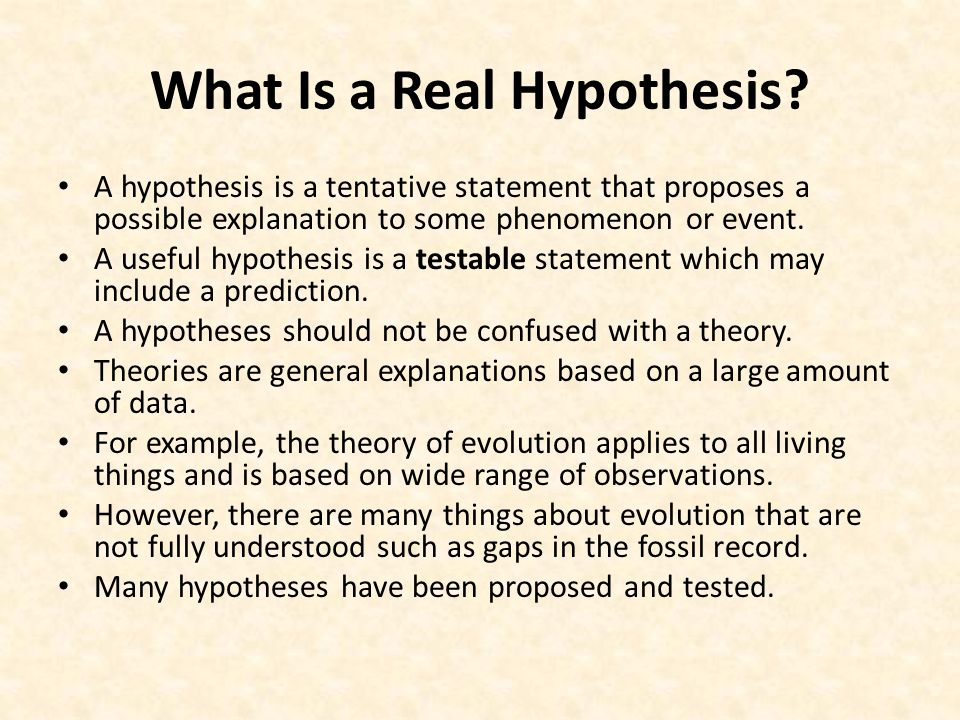hypothesis in sociology