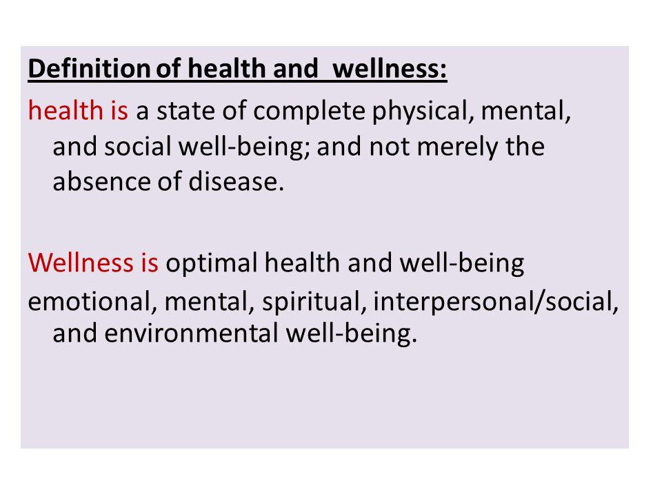 Assessment Psychosocial Health Self Care Wellness