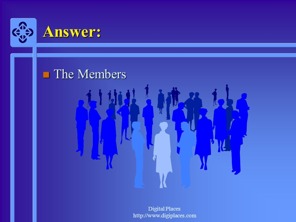 Answer: The Members