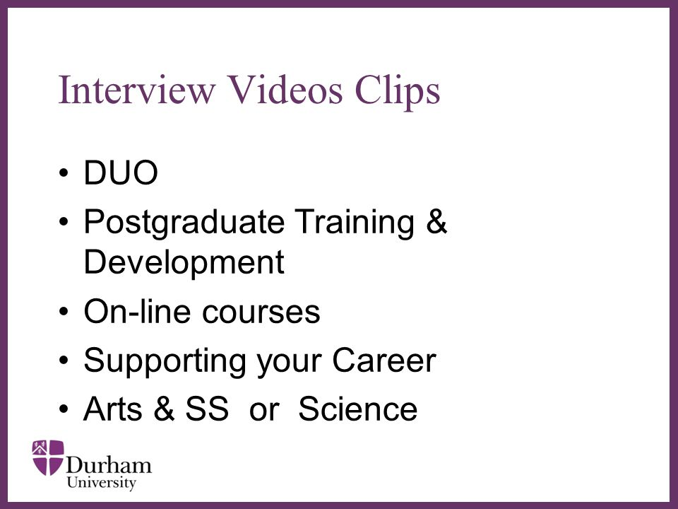 Interview Videos Clips