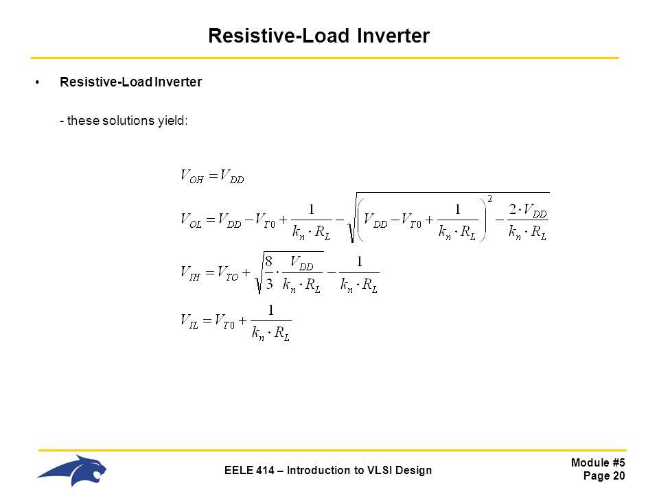 eele 414 introduction to vlsi design ppt download rh slideplayer com VLSI CAD VLSI Chip
