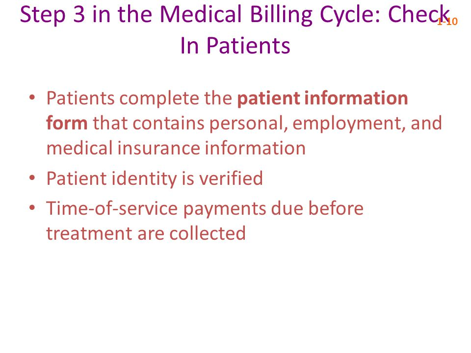 Step 3 in the Medical Billing Cycle: Check In Patients