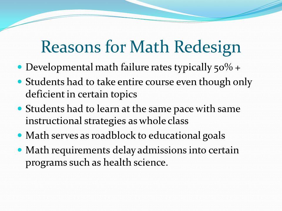 Math Redesign Models Sue Sherry Northern Virginia Community