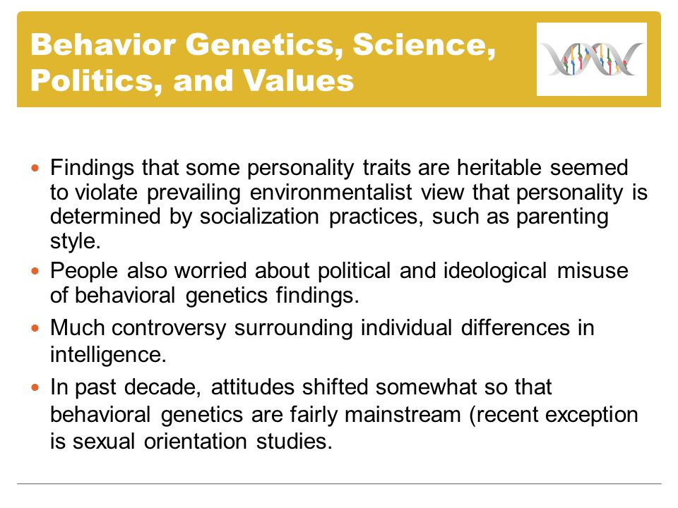 Behavioral genetics twin studies on sexual orientation
