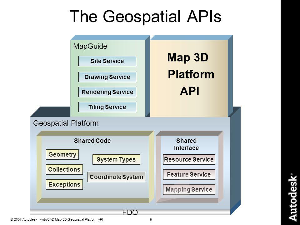 AutoCAD Map 3DPlatform API Training - ppt download