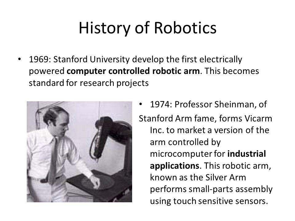 An Overview of Robotics - ppt video online download