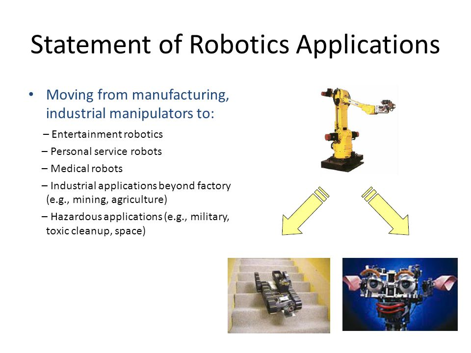 An Overview Of Robotics Ppt Video Online Download
