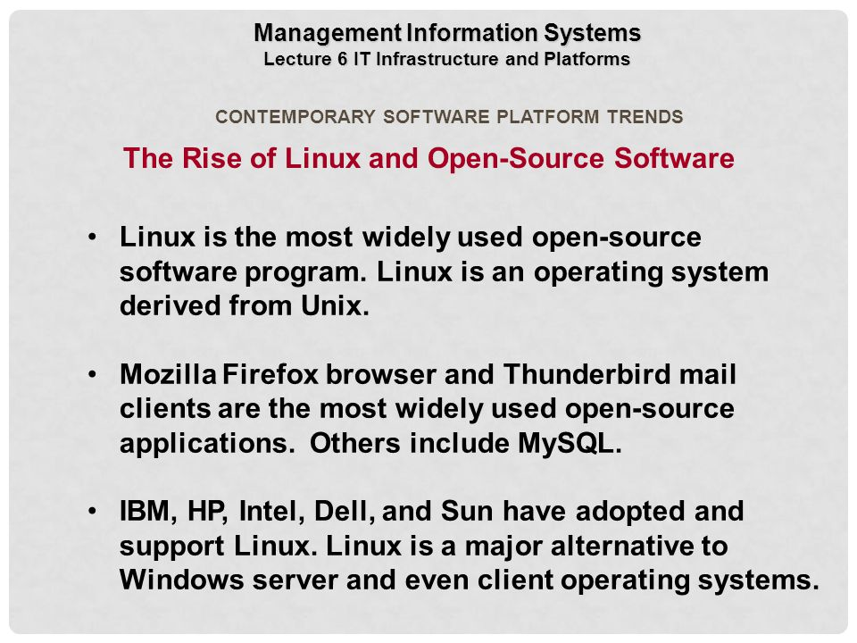 The Rise of Linux and Open-Source Software
